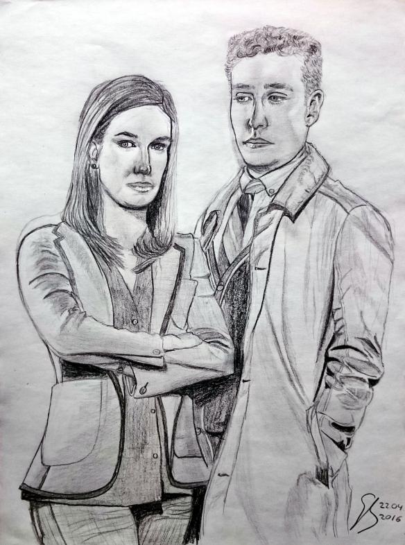 2016-04-22_Elizabeth Henstridge und Iain De Caestecker als Fitzsimmons